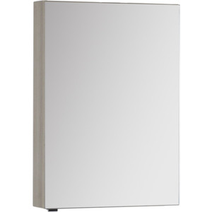 Зеркало-шкаф Aquanet Алвита 60 ясень коимбро (182733) шкаф пенал aquanet алвита 40 серый антрацит 183993