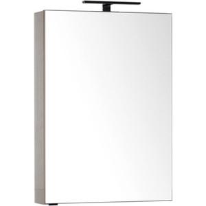 Зеркало-шкаф Aquanet Эвора 60 капучино (184000) зеркало шкаф aquanet эвора 60 крем 184006