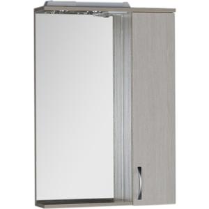 Зеркало-шкаф Aquanet Донна 60 беленый дуб (169038) угловой шкаф премиум 82х45х240 см беленый дуб