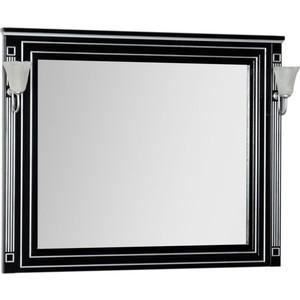 Зеркало Aquanet Паола 120 черное (181767) mantra paola 3532