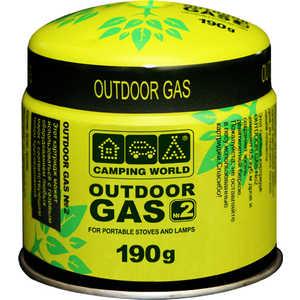 Camping World 381841 Картридж газовый 190 г (прокольный)