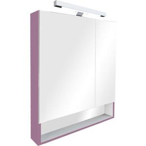 Зеркало-шкаф Roca Gap 70 фиолетовый (ZRU9302752) зеркальный шкафчик roca the gap 70 см белый zru9302749