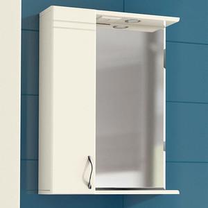 Зеркало-шкаф VIGO Alessandro 1-55 L (№3-550-Л) зеркало шкаф vigo jika 19 600 л 60х15х70