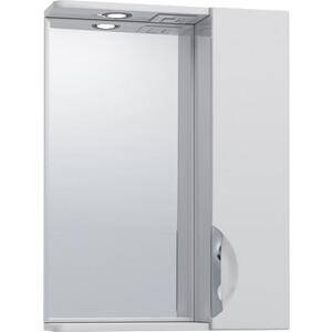 Зеркало-шкаф VIGO Jika 50 R (№19 500-Пр) зеркало шкаф vigo jika 19 600 л 60х15х70