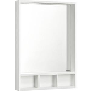 Зеркало Акватон Йорк 60 белый/выбеленное дерево (1A170102YOAY0) жидкое мыло 300 мл sodasan жидкое мыло 300 мл