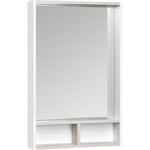 Зеркало Акватон Йорк 55 белый/ясень фабрик (1A173202YOAV0)