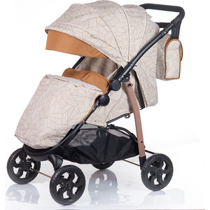 Коляска прогулочная BabyHit Versa Бежевый (VERSA BEIGE)