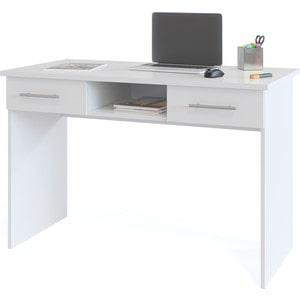 Стол компьютерный СОКОЛ КСТ-107.1 белый