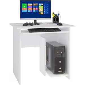 Стол компьютерный СОКОЛ КСТ-21.1 белый