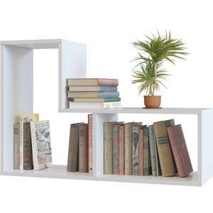Полка книжная СОКОЛ ПК-9 белый комплект офисной мебели сокол сокол р белый