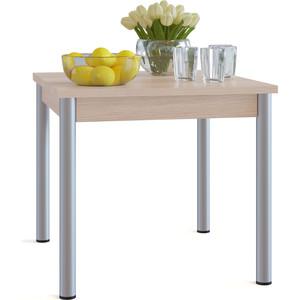 Стол обеденный СОКОЛ СО-2м беленый дуб раздвижной большой стеклянный обеденный стол кубика нагано 2 стекло стекло песочное беленый дуб