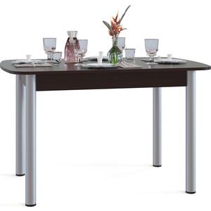 Стол обеденный СОКОЛ СО-3м венге обеденный стол дик стол 41 венге стекло черное