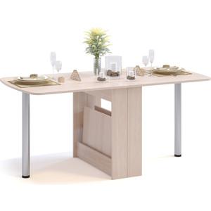 Стол раскладной СОКОЛ СП-11.1 беленый дуб стол раскладной стамбул по 1160 1475 x700мм дуб белфорт