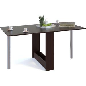 Стол-книжка СОКОЛ СП-24М.1 венге сокол раскладной стол сокол сп 10 1 венге hvvu a k4