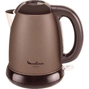 Чайник электрический Moulinex BY540F30 коричневый/черный чайник электрический moulinex by430dru 1500вт серебристый и черный