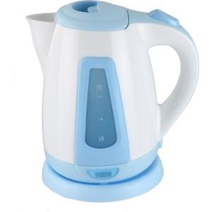 Чайник электрический Supra KES-1704 белый/голубой