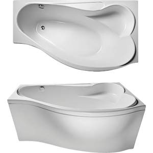 Акриловая ванна Eurolux Эфес правая 170x100 акриловая ванна triton бэлла правая