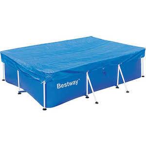 Крышка-тент Bestway для каркасных бассейнов прямоугольная 2.59х1.70м (58105)