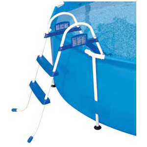 Лестница Bestway для бассейна (58046) / (58329) (0.76 м для моделей 56078, 56059, 56062, 57109) bestway bestway steel pro frame 56416 56062