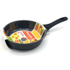 Сковорода d 24 см Appetite Dark Stone (DS2241) сковорода d 20 см appetite grey stone gr2201