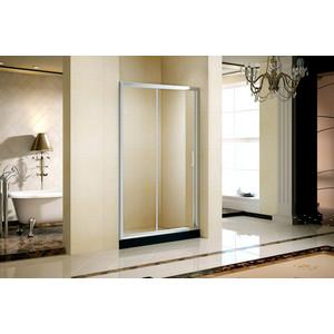 Душевая дверь AquaTrend Tarragona 120 195х120, прозрачное стекло, профиль хром (Tarragona 120)