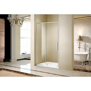 Душевая дверь AquaTrend Toledo 120D 190х120, прозрачное стекло, профиль хром (Toledo 120D)