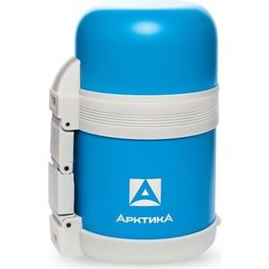 Термос  0.6 л Арктика с широким горлом универсальный (202-600 синий пластик)