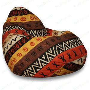 Кресло мешок POOFF Груша XL Африка кресло мешок pooff груша синий