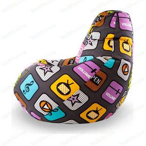 Кресло мешок POOFF Груша XL Смартфон боксерская груша