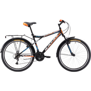 Велосипед Black One Active 26 черно-оранжевый 20 велосипед challenger mission lux fs 26 черно красный 16