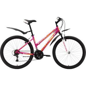 Велосипед Black One Alta Alloy розово-белый 18''