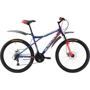 Велосипед Black One Element 26 D сине-красный 18 black one велосипед black one element 26 d 2017 сине красный 18