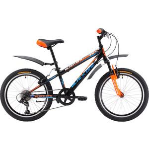 Велосипед Black One Ice 20 черно-оранжевый