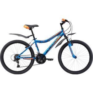Велосипед Black One Ice 24 сине-оранжевый