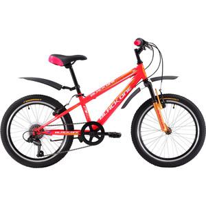 Велосипед Black One Ice Girl 20 розово-желтый