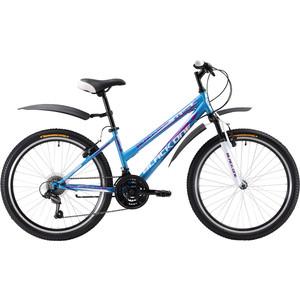 Велосипед Black One Ice Girl 24 сине-белый black one велосипед black one ice girl 24 2017 бело розовый 13