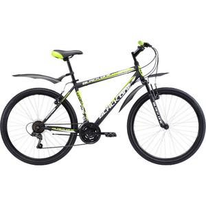 Велосипед Black One Onix 26 черно-зеленый 18 велосипед challenger mission lux fs 26 черно красный 16