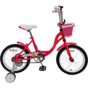 Велосипед Bravo 16 Girl розово-желтый