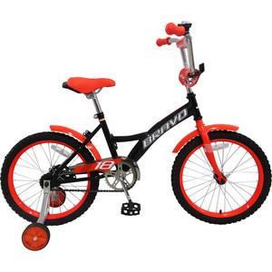Велосипед Bravo 18'' Boy черно-красный