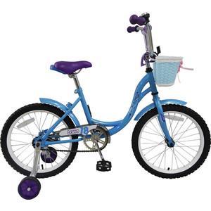 Велосипед Bravo 18'' Girl сине-сиреневый