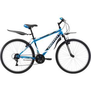 Велосипед Bravo Hit 26 сине-белый 20''