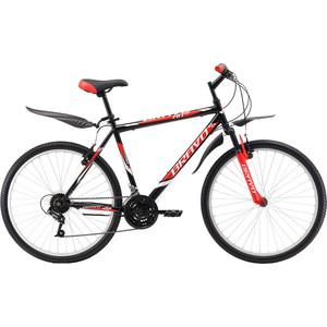 Велосипед Bravo Hit 26 черно-красный 20''