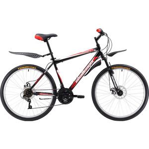 Велосипед Challenger Agent 26 D черно-красный 18''