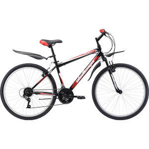 Велосипед Challenger Agent 26 черно-красный 18'' challenger велосипед challenger mission fs 26 2018 жёлтый красный чёрный 16