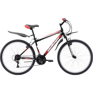 Велосипед Challenger Agent 26 черно-красный 20'' challenger велосипед challenger mission fs 26 2018 жёлтый красный чёрный 16