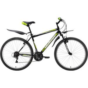 Велосипед Challenger Agent черно-зеленый 18'' велосипед challenger mission lux fs 26 черно красный 16