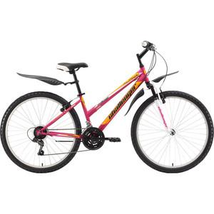 Велосипед Challenger Alpina Lux 26 розово-желтый 14.5 велосипед challenger mission lux fs 26 черно красный 16