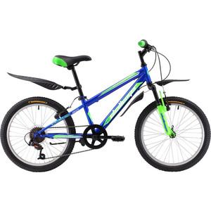 Велосипед Challenger Cosmic 20 сине-зеленый велосипед challenger mission lux fs 26 черно красный 16
