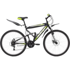 Велосипед Challenger Desperado черно-зеленый 20''