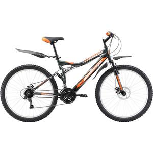Велосипед Challenger Enduro Lux FS 26 D серо-оранжевый 18'' велосипед challenger mission lux fs 26 черно красный 16